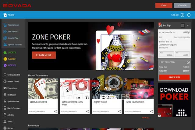 Bovada Poker: Should I Trust poker site bovada lv?