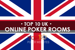 Online Poker UK Flag