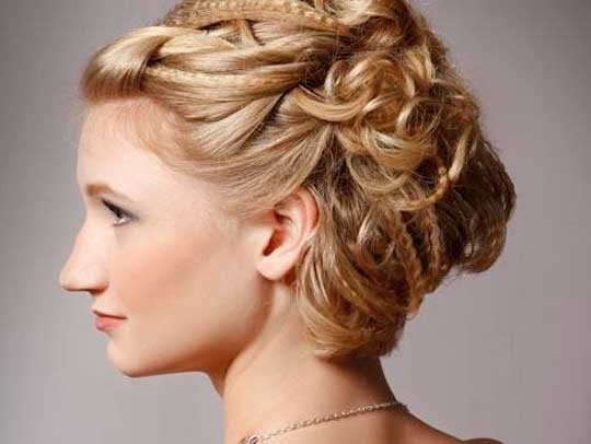 Elegantly Up Hairstyle