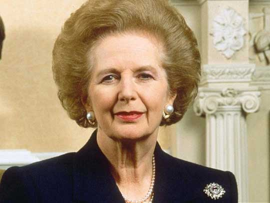 Margaret Thatcher Hairstyle