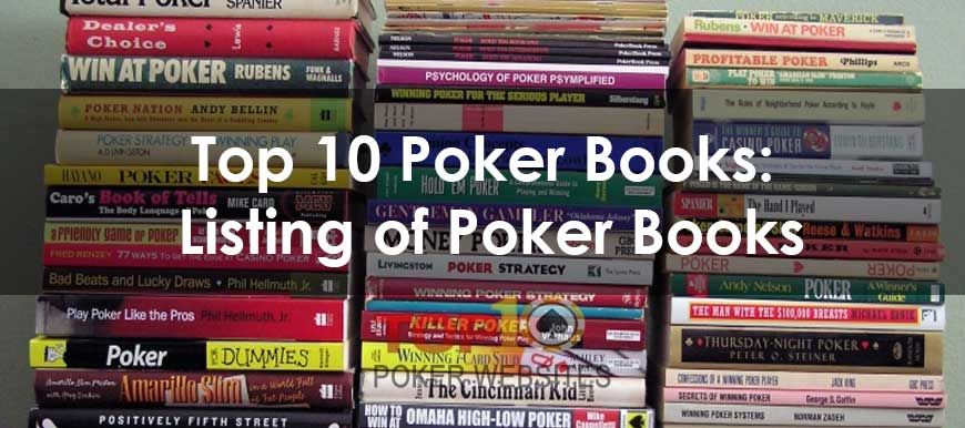 Top 10 Poker Books