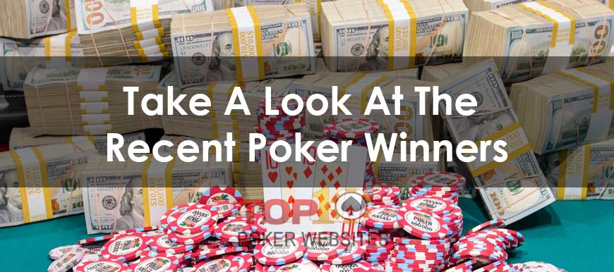 Top 10 Poker Tournament Winners