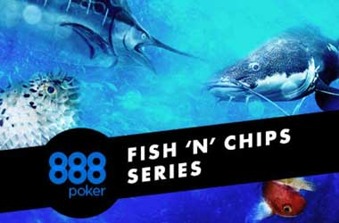 Get Your Daily Portion Of 'Fish N Chips' With 888poker