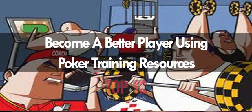Poker Training Resources To Help Players Become Better