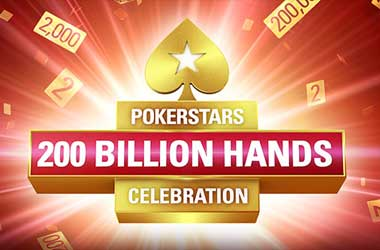 PokerStars To Celebrate 200 Billion Hands With Exciting Promotions