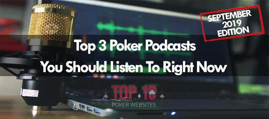 Poker Podcasts: September 2019