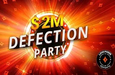 partypoker's New Defection Party Promo Gives Away $2M in Extra Prizes