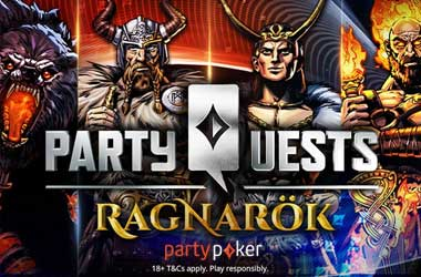 partypoker Offers $300K Worth of Freerolls On New Ragnarök Promotion