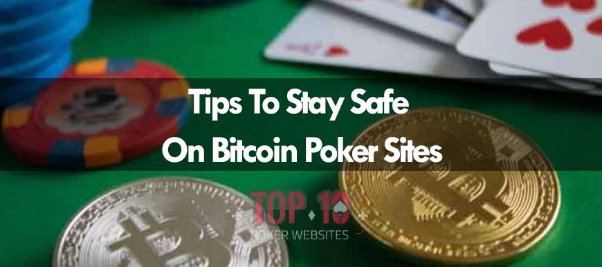 4 Tips For Poker Pros To Follow Whilst Playing On Bitcoin Poker Sites