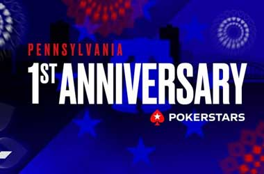 PokerStars PA Marks First Anniversary With $1 Million GTD Series