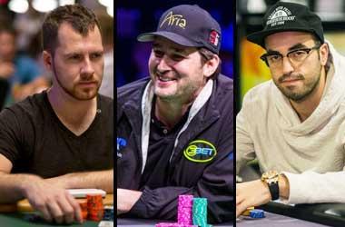 Dan Cates, Phil Hellmuth & Bryn Kenney