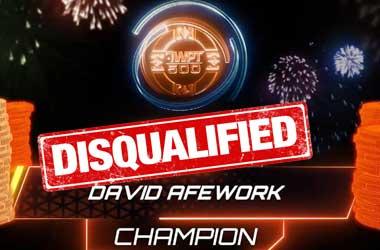 WPT500 Winner David Afework Stripped of Winnings Due to Account Sharing